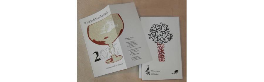 """""""V Lúčoch Svätého Grálu"""", literárno-umelecký Almanach, ročník 1"""